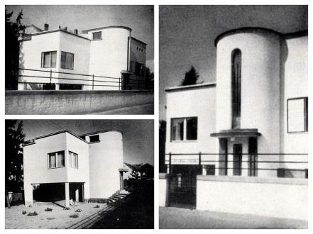 Molnár Tibor-villa / Forrás: Tér és Forma