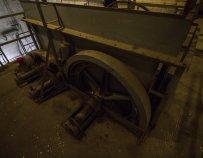 A páternoszter hajtószerkezete / Fotó: Vékony Zsolt