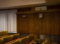 A tanácstermi titkos ajtó / Fotó: Vékony Zsolt