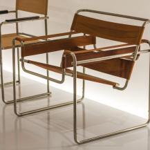Breuer Marcell híres Vaszilij-széke / Fotó: Vékony Zsolt