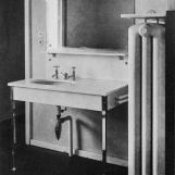 A fürdőszoba archív felvételen