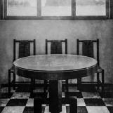 Az étkező archív felvételen