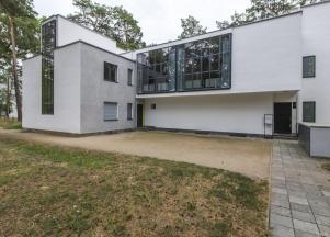 Klee és Kandinszkij közelmúltban felújított háza / Fotó: Vékony Zsolt