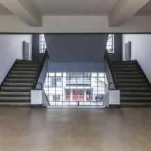 A műhelyszárny lépcsőháza / Fotó Vékony Zsolt