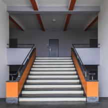 A műszaki részleg lépcsőháza / Fotó Vékony Zsolt