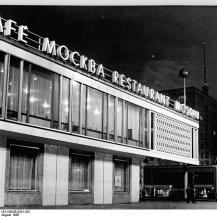 Moszkva kávéház / Kép forrása: Wikipédia - Bundesarchiv