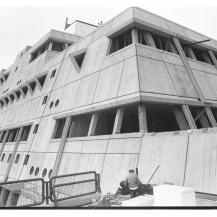 Az Egérbunker építése / Kép forrása: museum-digital.de