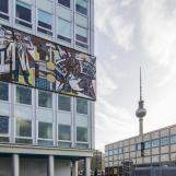 Walter Womacka mozaikja a Haus des Lehrers falán / Fotó: Vékony Zsolt