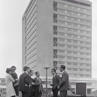 A hotel az átadás előtt 1968-ban / Kép forrása: Wikipédia