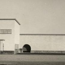 Noorderbegraafplaats, külső nézet / Kép forrása: Fotocollectie Dienst Publieke Werken Gemeente Hilversum