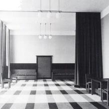 A várakozó helyiség archív felvételen