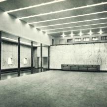 Hilversumi városháza, belső tér / Kép forrása: Magyar Művészet