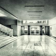Hilversumi városháza, előcsarnok / Kép forrása: Magyar Művészet