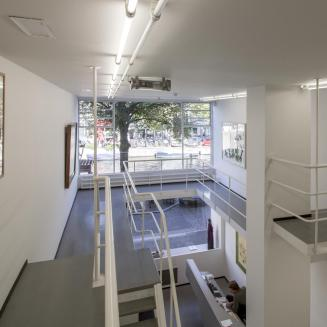 A könyvesbolt már Borzo Gallery-ként / Fotó: Vékony Zsolt
