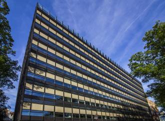 Irodaház a Weesperpleinen / Fotó: Vékony Zsolt