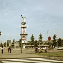 A RAI külső nézete 1969-ben / Kép forrása: Fortepan (adományozó: LHM)